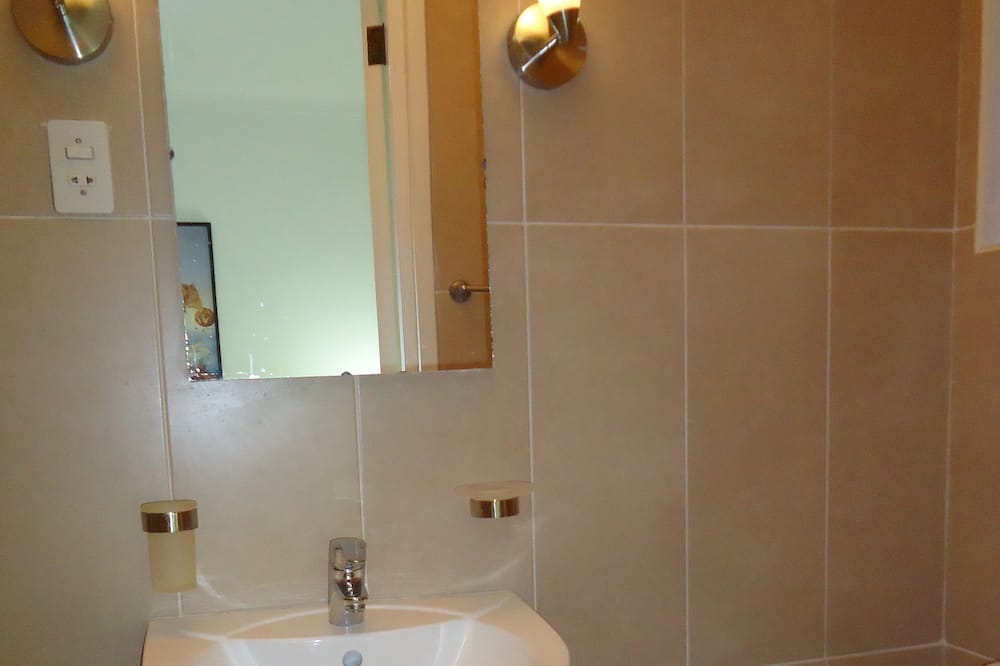 Dvivietis kambarys su pagrindiniais patogumais, 1 standartinė dvigulė lova - Vonios kambarys