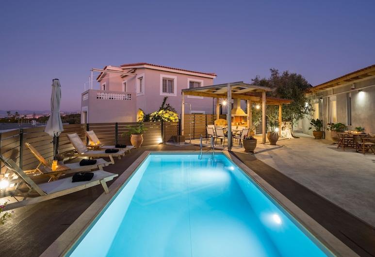 Roxanne Villa Sea View, Chania, Pool
