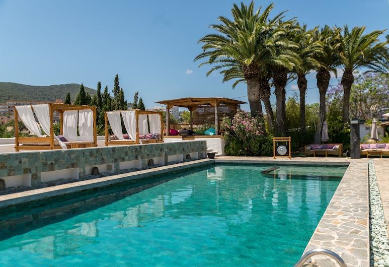 Boutique hotel Ibizazen, Santa Eulalia del Rio, Vonkajší bazén