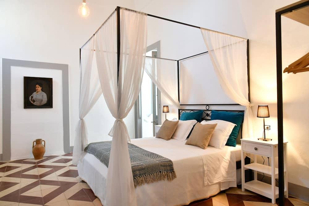 Izba typu Comfort, balkón, výhľad na záhradu - Hosťovská izba