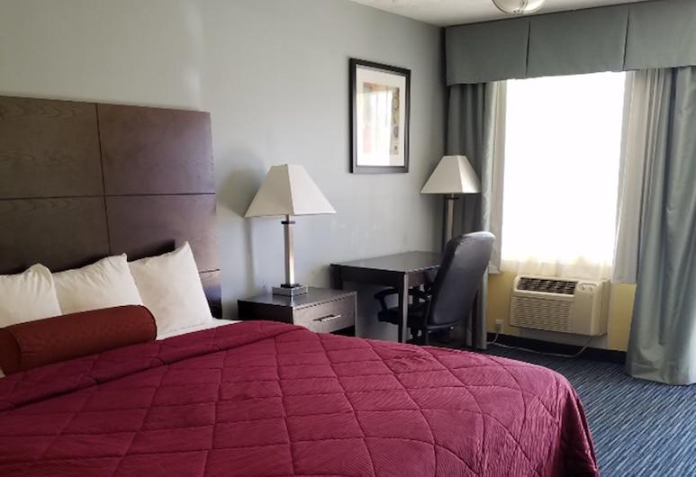 Budget Host Inn, Winchester, Deluxe Room, 1 Katil Raja (King), Bilik Tamu