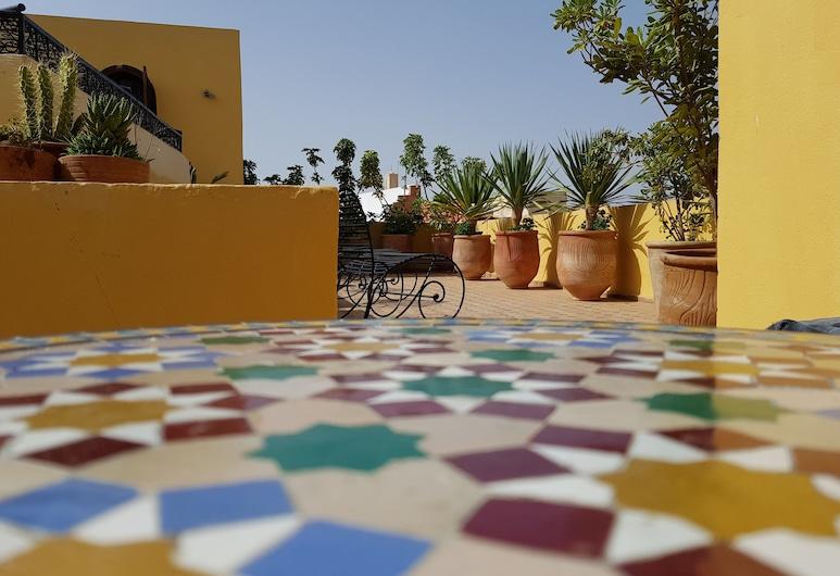 Riad Inspira, Meknes, Terasa / vidinis kiemas