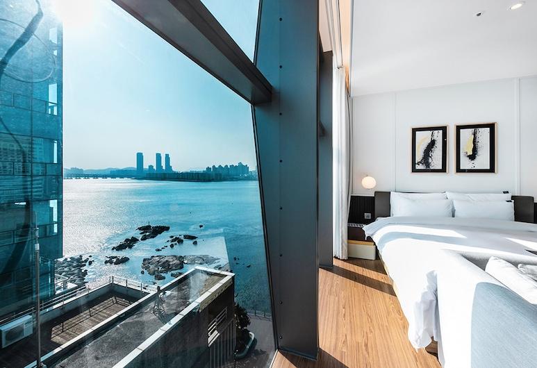 H Avenue Gwangalli Beach, Busan, Junior Suite (Avenue) - Breakfast & coffee, 3pm Check in, 1pm check out, Netflix (on request), Vendégszoba kilátása