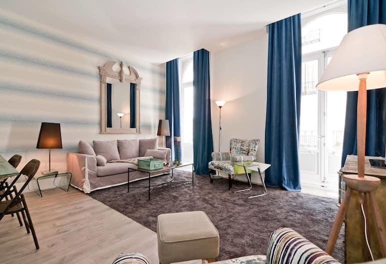 Behap Madrid Puerta del Sol, Madrid, Apartment, 1 Schlafzimmer, Wohnzimmer