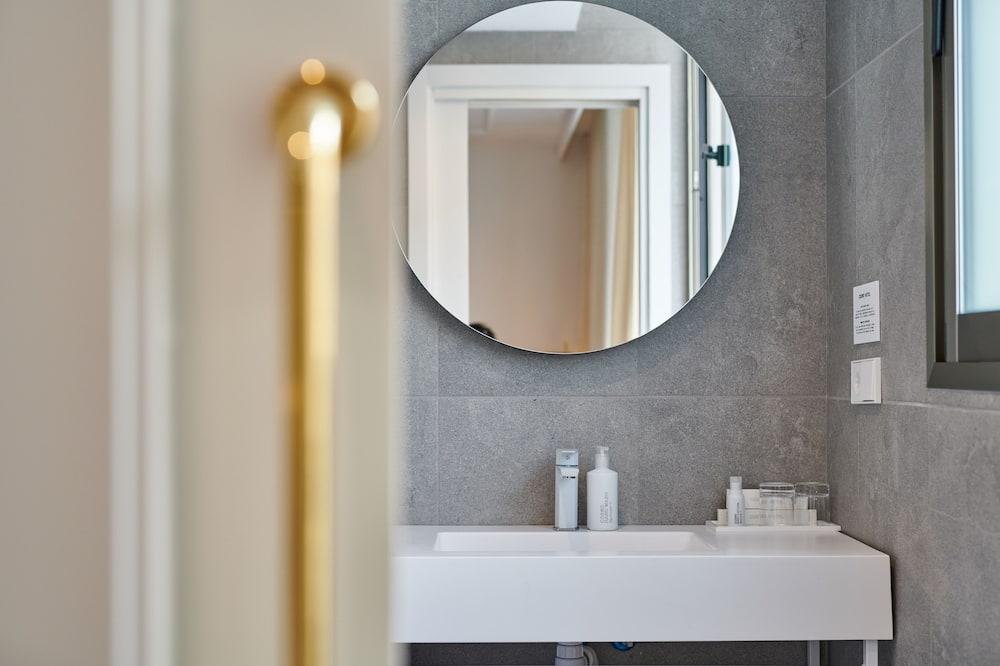 Penthouse, Terrasse - Badezimmer