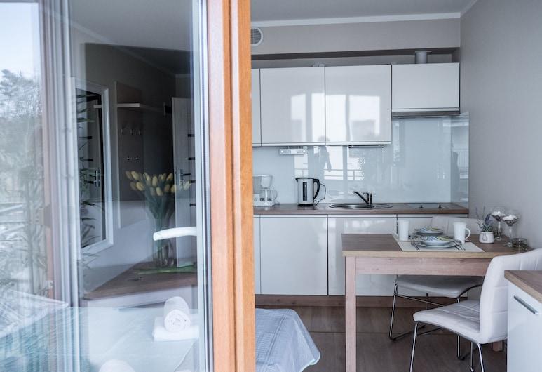 Baltic Home Pegaz Apartments, Swinoujscie, Economy-íbúð - 1 meðalstórt tvíbreitt rúm með svefnsófa, Herbergi