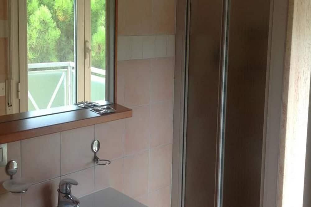 Apartament typu Comfort, częściowy widok na morze - Łazienka