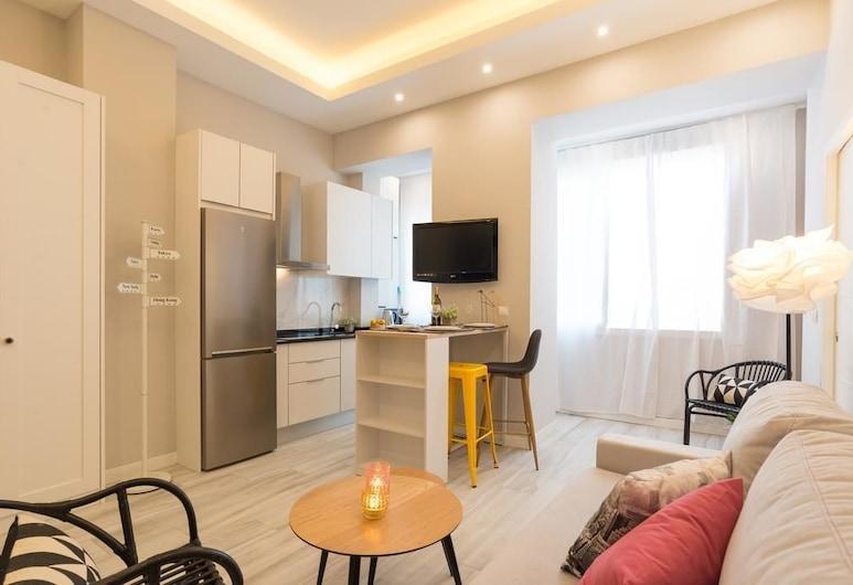 MalagaSuite Cathedral Alley, Málaga, Apartment, 1 Bedroom, Living Area