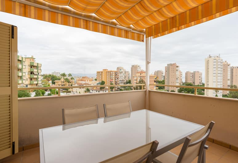 MalagaSuite Beach Solarium & Pool, Torremolinos, Lägenhet - 2 sovrum, Terrass