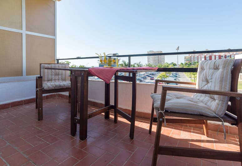MalagaSuite Marina Victoria, Torremolinos, Appartement, 1 slaapkamer, Terras