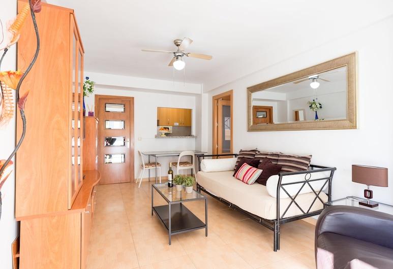 MalagaSuite Torremolinos Hawai Beach, Torremolinos, Appartement, 1 slaapkamer, Woonruimte