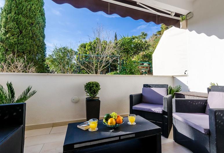 Magellan Deluxe Two, Dubrovnik, Apartamento luxo, 2 quartos, Terraço/pátio