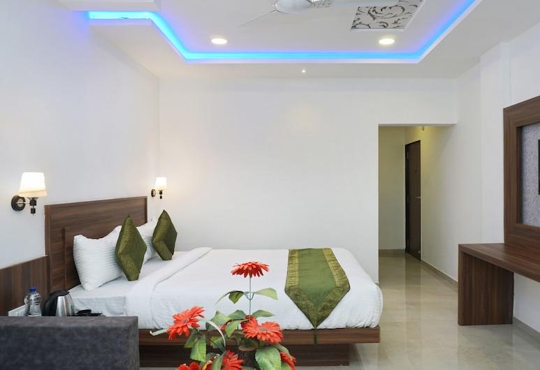 Treebo Trend Prince palace, Mahabaleshwar, Deluxe kamer, 1 kingsize bed, Kamer