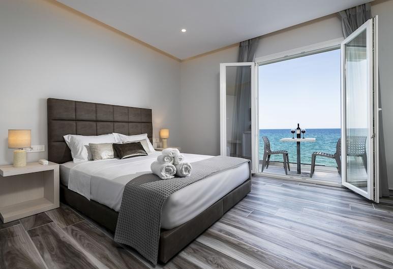 Kyma Rooms & Suites, Kos, Apartmá typu Deluxe, částečný výhled na moře (Ammos), Pokoj