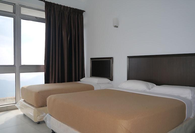 Genting Ria Apartment by C&T, Genting Highlands, Külaliskorter, 3 magamistoaga, Tuba