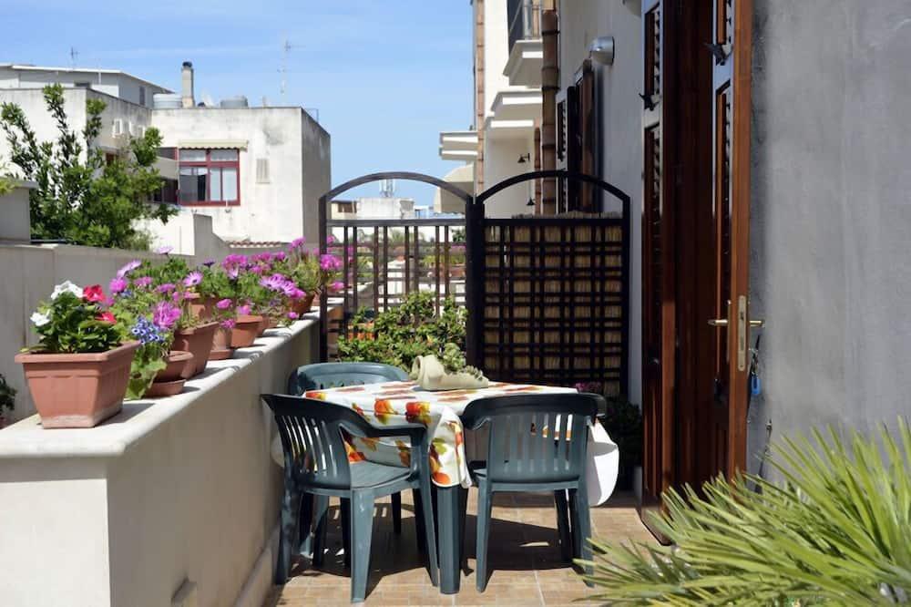 公寓, 1 張加大雙人床及 1 張梳化床, 露台 (Verde Mare) - 露台
