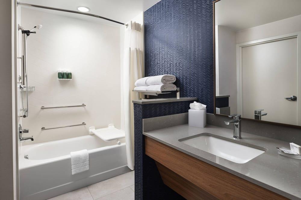 Номер-люкс, 2 ліжка «квін-сайз», для некурців - Ванна кімната