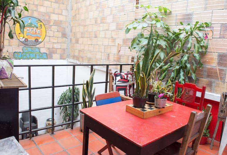 Casa Locombia, Bogotá, Ruokailu
