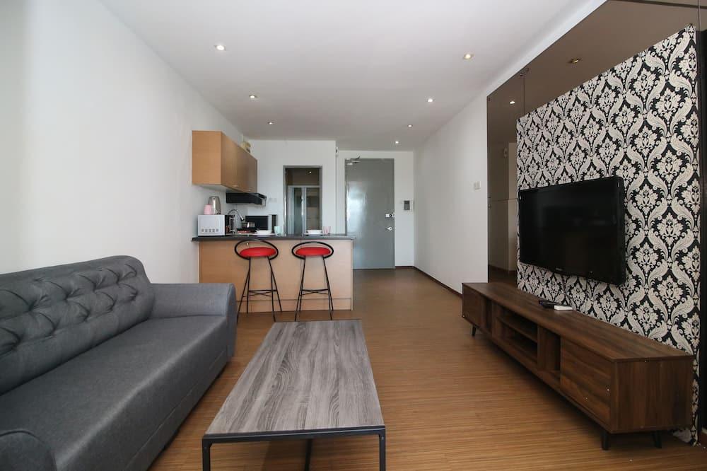 Apartmán typu Classic, 1 dvojlôžko - Obývacie priestory