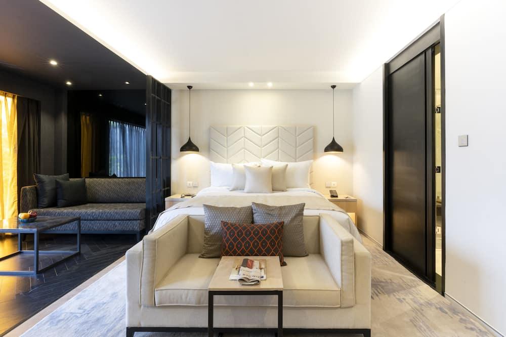 Δίκλινο Δωμάτιο για Μονόκλινη Χρήση - Δωμάτιο επισκεπτών