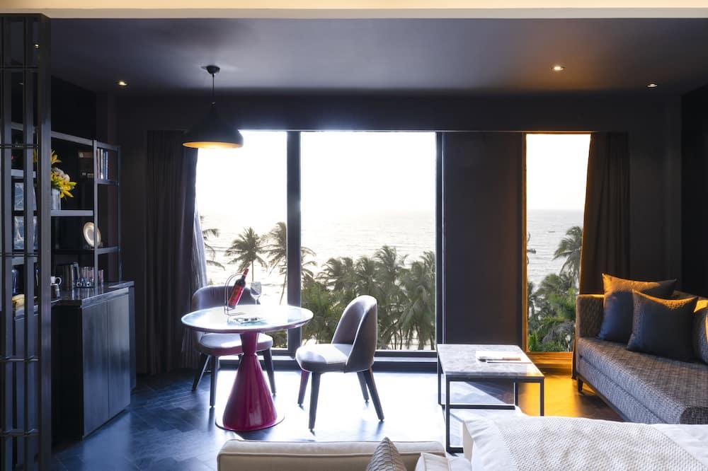 Δίκλινο Δωμάτιο για Μονόκλινη Χρήση - Περιοχή καθιστικού