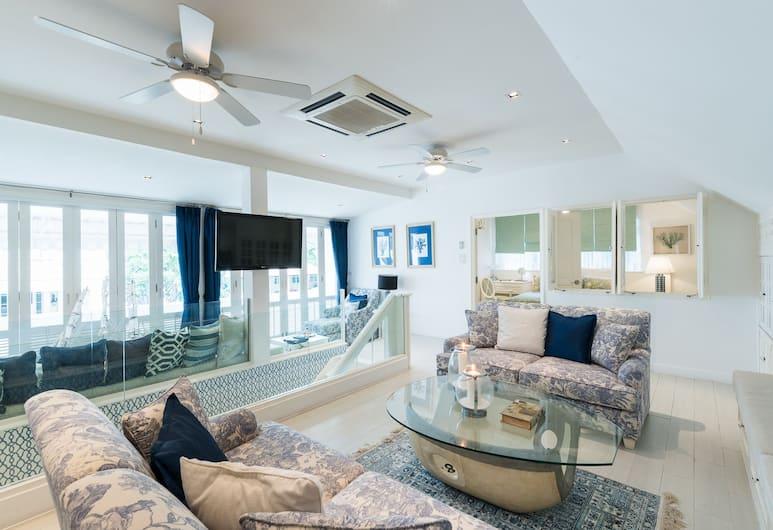 華欣海灘別墅 - 熱情酒店, Hua Hin, 奢華別墅, 4 間臥室, 客廳