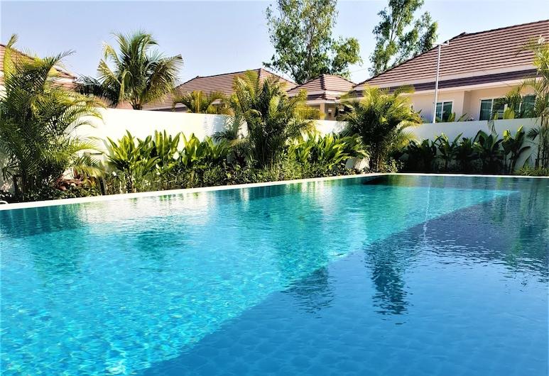 華欣威爾維別墅酒店, Hua Hin, 3-Bedroom Villa , 私人泳池