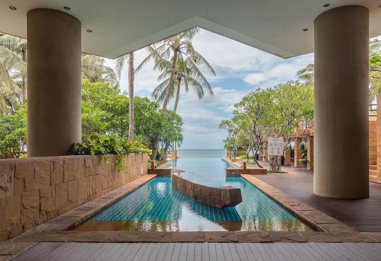 華欣奢華公寓式客房 - 熱情酒店, Hua Hin, 室內/室外泳池