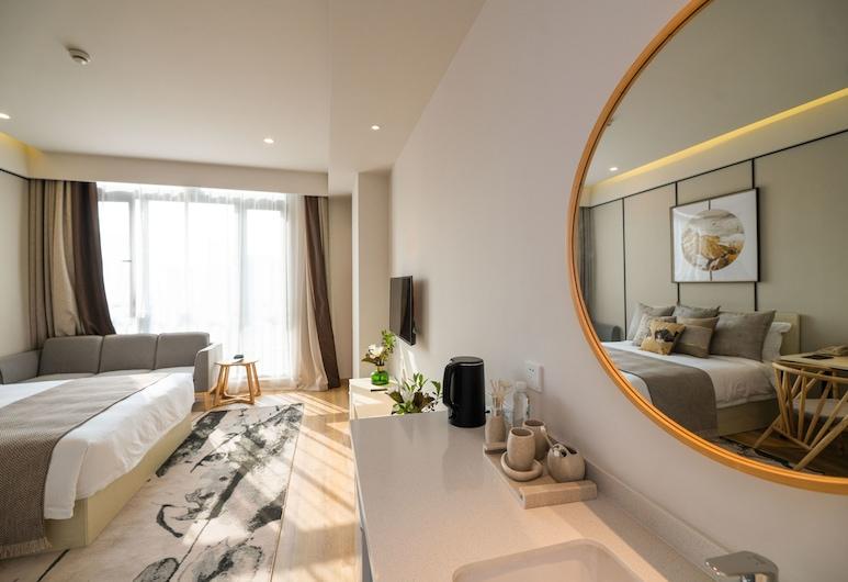 上海中建瑞貝庭酒店, 上海市, 行政大床房, 客房