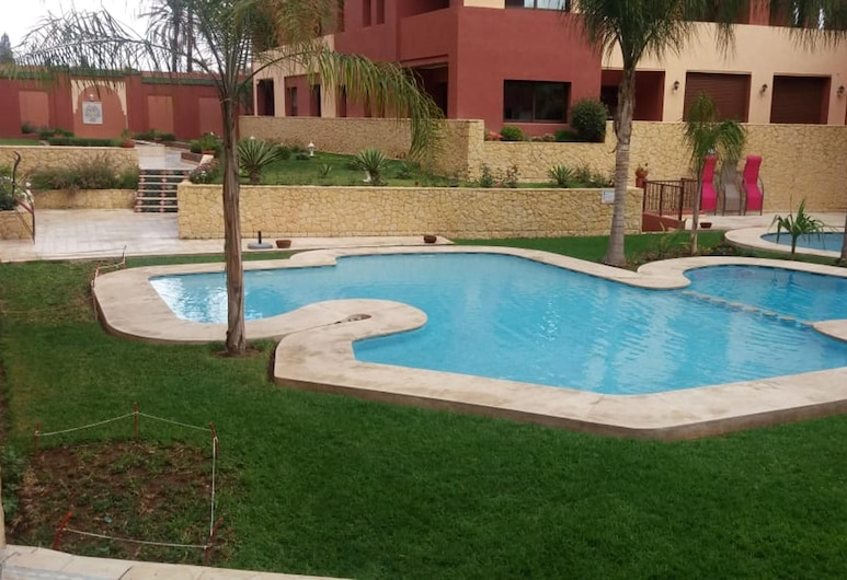 Apartment With one Bedroom in Marrakech, With Wonderful City View, Shared Pool and Furnished Terrace, Marrakech, Pool