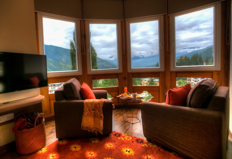 The Pema by Realm, Thimphu, Valley Suite, Living Room