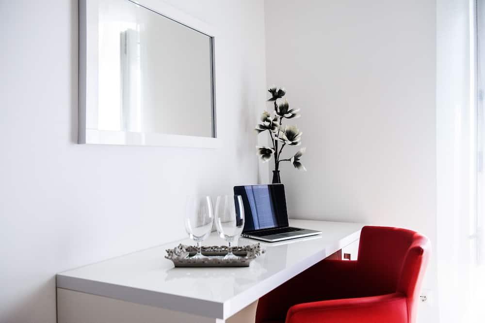 Dvojlôžková izba typu Exclusive, výhľad na more - Obývacie priestory