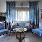 Appartement, plusieurs lits, vue mer - Coin séjour