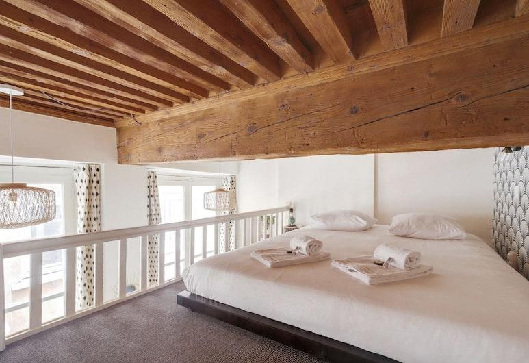 Elegant Nest in Hôtel de Ville, in the Heart of Lyon, Lyon, Lägenhet (1 Bedroom), Rum