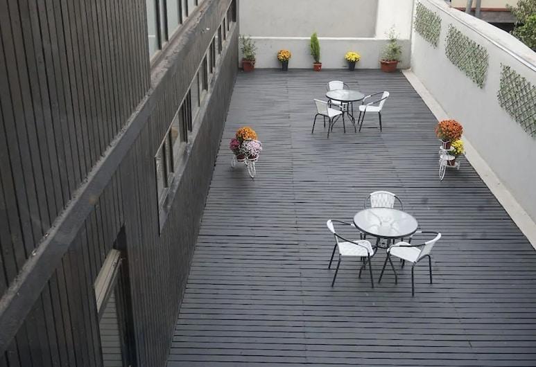 Hotel Blu, Santiago, Terraza o patio