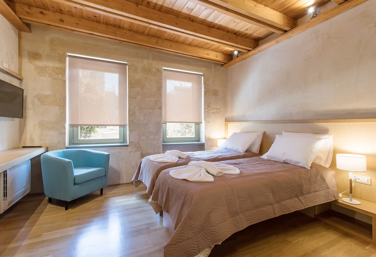 Polixeny's Suites, Chania, Junior Suite, 1 King Bed with Sofa bed, Guest Room
