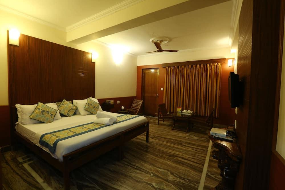 חדר סופריור, מיטת קינג, נוף להר - חדר אורחים