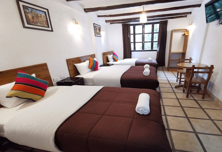 Casona Del Inca Machupicchu, מאצ'ו פיצ'ו, חדר סטנדרט לארבעה, חדר אורחים