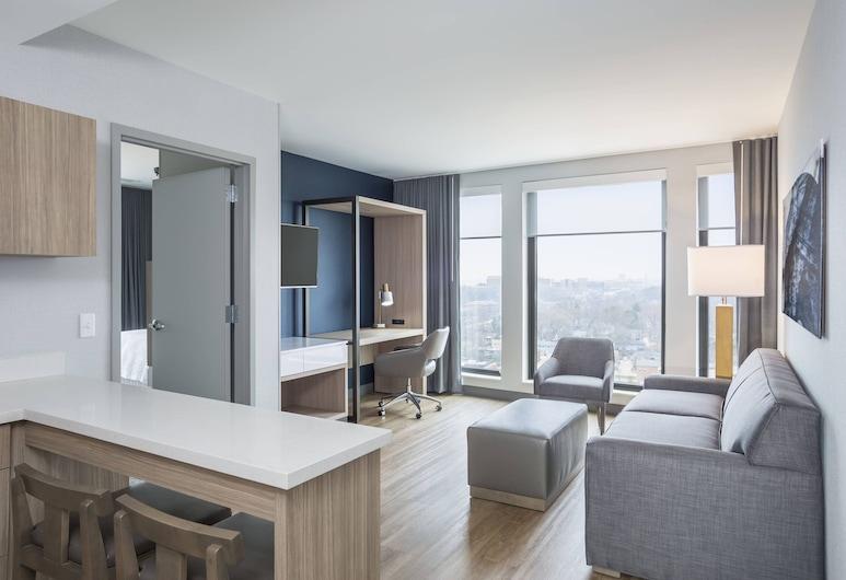 SpringHill Suites by Marriott Madison, Madison, Suite, 1 Schlafzimmer, Nichtraucher, Zimmer