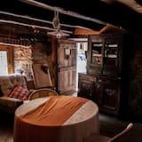 Suite romántica, 1 habitación, terraza, vista al río (Suite del Mulino) - Sala de estar