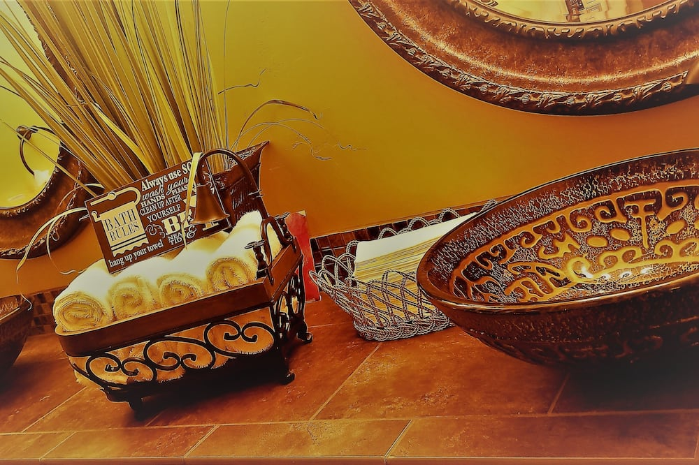 Signature Suite, 1 Bedroom, Terrace - Bathroom