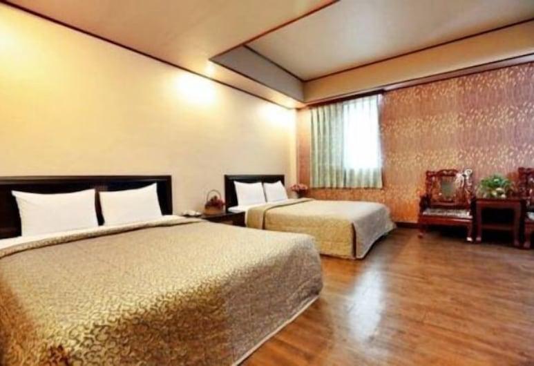 Hotel Lee-Chan, Taipei, Familie vierpersoonskamer, 2 tweepersoonsbedden, Kamer