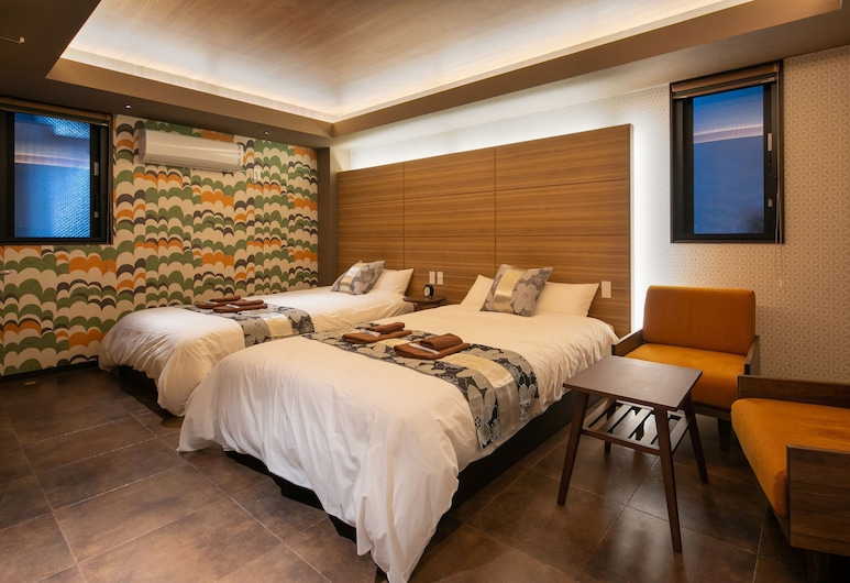 IKIDANE Residential Hotel Higashiikebukuro, Tokyo, Double Room, Guest Room