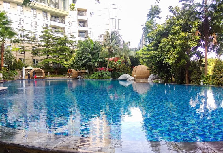 Brand New 1BR The Mansion Apartment, Jakarta, Outdoor Pool