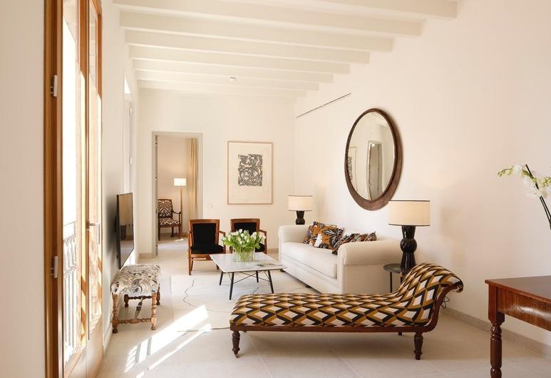 Vila Damunt, Palma de Mallorca, Vila D´Amunt Suite , Vardagsrum