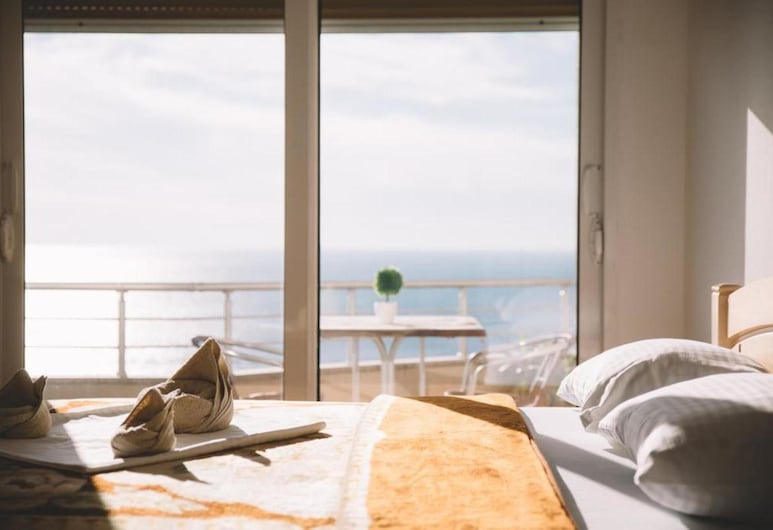Panorama Apartments & Rooms, Ulcinj, สแตนดาร์ดสตูดิโอ, วิวทะเล (4), วิวจากห้องพัก