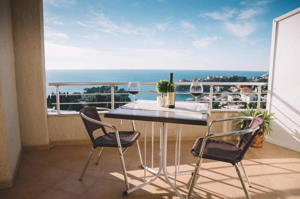Standaard kamer, Uitzicht op zee - Balkon