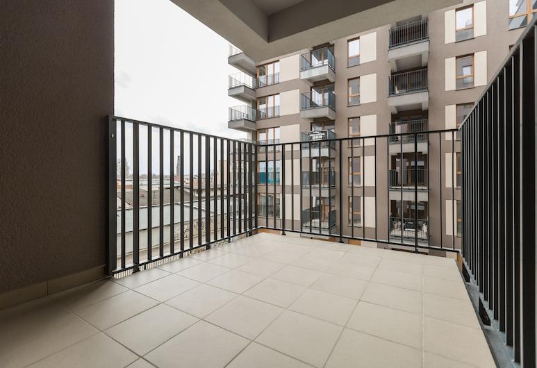 Homewell Apartments Gąsiorowskich, Poznan, Standard Apart Daire, 1 Büyük (Queen) Boy Yatak ve Çekyat (I), Balkon