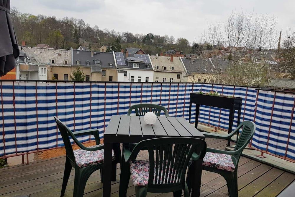 Chambre Double Confort, patio - Balcon
