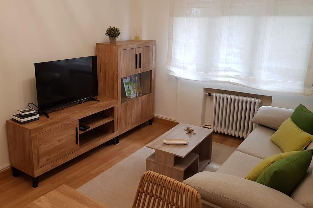 Lejlighed - 2 soveværelser - havudsigt - Stue